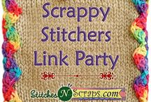 Scrappy Stitchers Link Party / These are all projects that have been shared on the Scrappy Stitchers Link Party on StitchesNScraps.com!  Join in the fun and post your project too. You can always find the latest link party here: http://stitchesnscraps.com/category/special-events/scrappy-stitchers-link-party/
