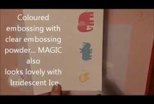 colour embossing