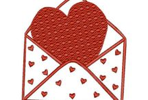 Machine Embroidery Designs. Hearts, love. / Machine Embroidery Designs from embroland.net