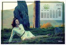 Outlander Germany Jubiläums Kalender 2015 / Mit Outlander durch Jahr 2015 -  Hier findet ihr jeden Monat ein neues Kalenderblatt. Mehr Downloads findet ihr auf unsere Homepage  http://www.outlander-germany.com/pages/extras/downloads.php