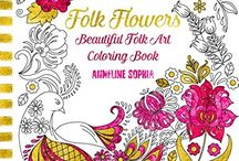 Coloring Books for Adults / Want something a little different from the usual books in the shops?  Find the best independent adult coloring books, coloring pages and coloring products by artists from around the world.