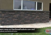 Video / Learn more about the durability of our faux stone panels and see how easily a GenStone project is to install