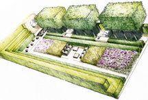 Sketch giardini