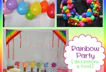 Rainbow Party ♥ / Rainbow Party Ideas and Decorations!