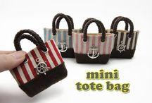 bolsos miniaturas