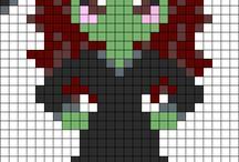 coloriage pixel