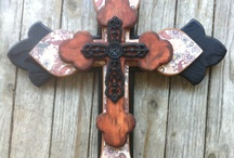 Crafts: Crosses / by Bianca Jimmerson Moser