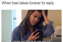 Late replies