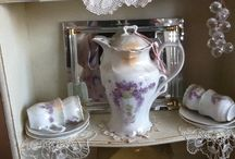 Beautiful china, glass, silver, etc..... / beautiful vintage china, glass, silver, etc..... / by Maria Hurcomb