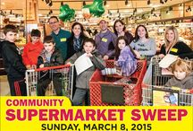Community Supermarket Sweep / Continuing the momentum of the Community Challah Bake and the #EndHungerGMW campaign sponsored by Jewish Federation of Greater MetroWest NJ, Federation sponsored its sixth annual Community Supermarket Sweep at two locations on Sunday, March 8, 2015.