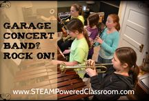 Music / Fabulous resources and ideas to creatively engage with music education! And I share some of my son's work too. :)