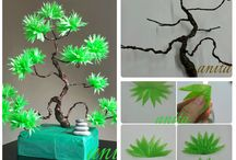 Arrangements / Any kind - Japanese flower, Christmas light, Props big small, branch works of art.
