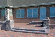 Stonework, Pavers, & Patios! / Both functional and decorative, custom stonework and paving can be a great compliment to any landscape design.