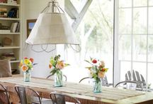 """Build Our Home-Dining Room / Our first home will be our last. A one-story, larger farmhouse on a few acres. We plan on doing it right and doing it up to our standards. These """"Build Our Home"""" Boards are real ideas and inspiration."""