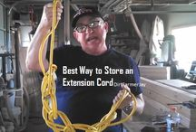 Best way to store extension cords