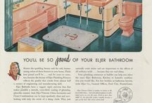 1940s Bathroom / Interior Design
