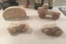 Auto di legno