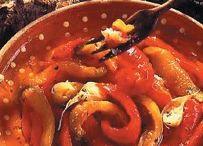 poivrons tomates