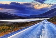 NC500 / North Coast 500. A spectacular scenic drive through the stunning Scottish Highlands.