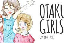 Otaku Girls Blogparade / Unsere Hommage an unsere liebsten Anime & Manga Glanzstücke!   Ylva - http://derklangvonzuckerwatte.com/ Sina - http://sinichans-little-world.blogspot.de/ & Liv - http://thank-you-for-eating.com