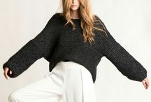 •••S c a r v e s & S t u f f s w e a t e r s ••• / These luxurious sweaters will keep you warm and stylish.