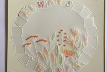 Clarity Love / Gelli plate art and Groovi plate vellum art.