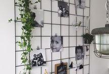 muur woonkamer