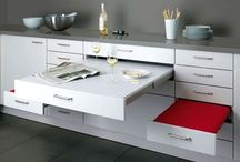Pull-out counter space