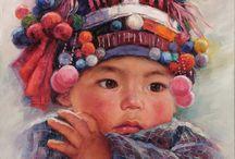 Asian painters