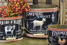 Country kitchen & home Decor / by The Little Corner