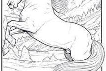 cai  sculptați