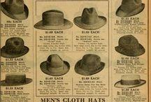 Erkek şapkalar