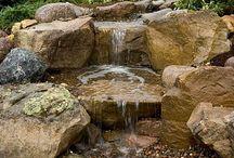 Garten-Wasserfälle