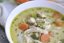 Soups, stews, bisques, & chowders! / by Arianna
