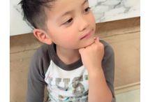 男の子のヘアスタイル