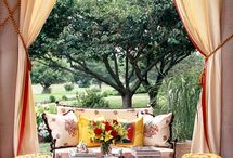 Fabric Makeovers For Outdoor Rooms / by Lois Christensen