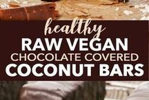 Raw/No-Bake Meals and Desserts / Here you can find recipes that do not include any cooking or baking. Just simply raw meals and desserts!