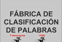 Lengua 1º Ciclo Actividades Digitales Interactivas / Actividades y aplicaciones digitales interactivas para los diferentes Bloques temáticos del área de Lengua primer ciclo E. Primaria