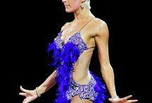 DANÇAS: Vestidos, Dança Internacional de Salão