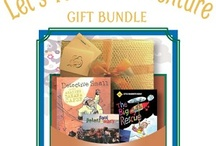 Gift Bundles for Kids / Looking for a great gift for a child? These gift bundles, featuring a mix of books, CDs and DVDs, are perfect! Browse by age group and choose a theme!