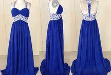 Blue proms