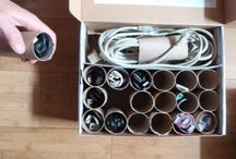 Organization ideas / by Lisa Ward-White