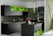 Modular Kitchens / All about modular kitchen designs from around the world.
