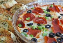 Dips / Sweet and savory finger food treats.
