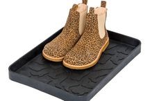 Trays / Tica copenhagen trays for boots and shoes. 50% recycled rubber.  Easy to clean.