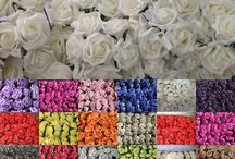 Artificial Foam Roses / Artificial Foam Roses for Weddings, Birthdays, Anniversaries, Table Centrepieces, Home Decor, Bouquets, Flower Girl Flowers and much more!
