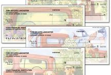 colorful checks / http://www.colorfulimages.com/category/checks.do  Colorful Images offers Current© personal checks, a whimsical array of custom personal checks.