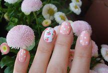 Szolíd köröm :) / Nails, summer nails,