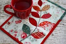 mug rugs / by Beth Kobiske