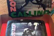 Delicia de pasteles / The Clash - London Calling Birthday Cake.